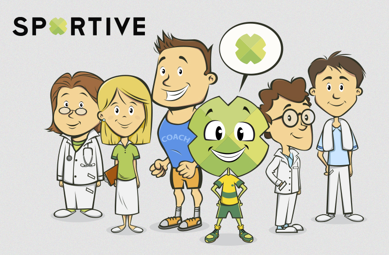 "sportive-1 from project ""Corporate Ilustration"