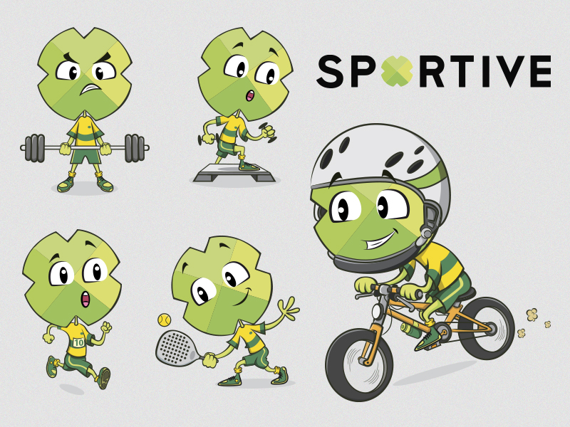 "sportive-5 from project ""Corporate Ilustration"
